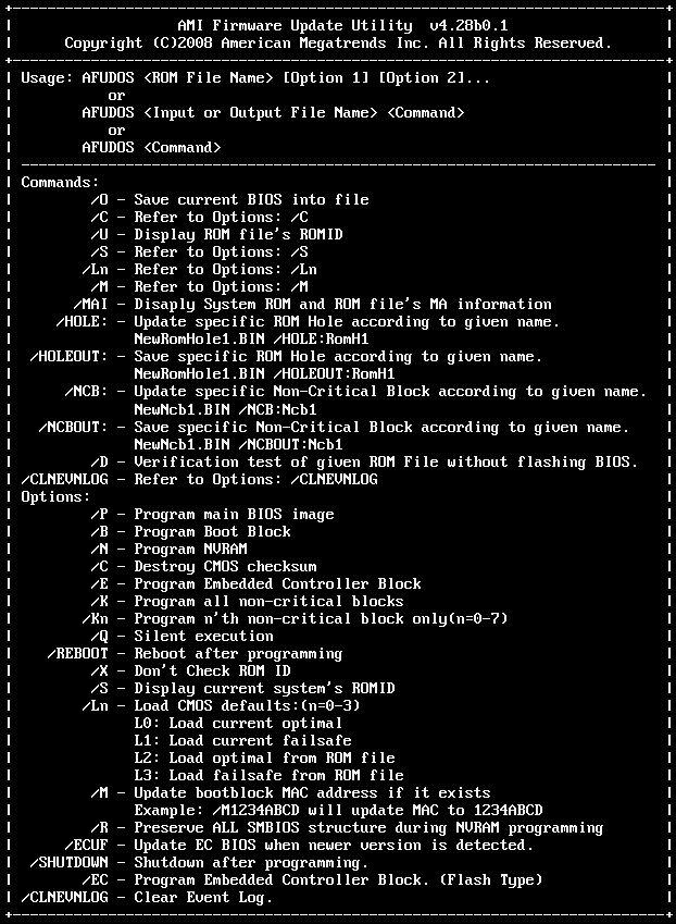 Afudos bios update tool v2 38 manual